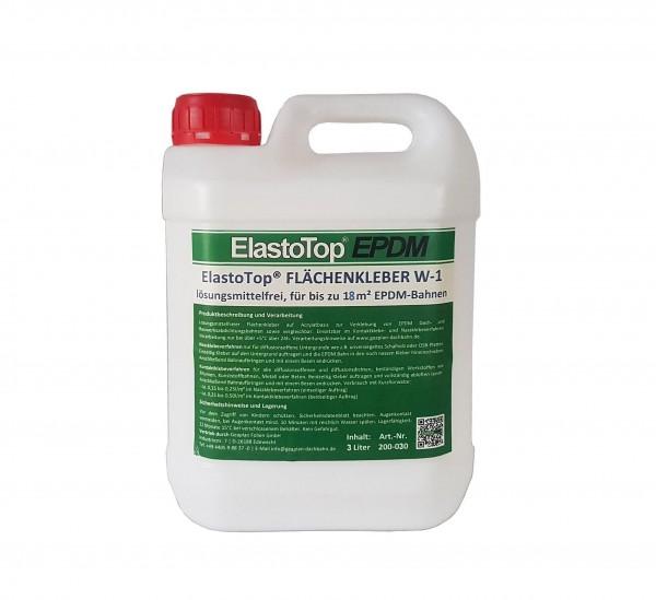 3 Liter wasserbasierter Flächenkleber ElastoTop® EPDM