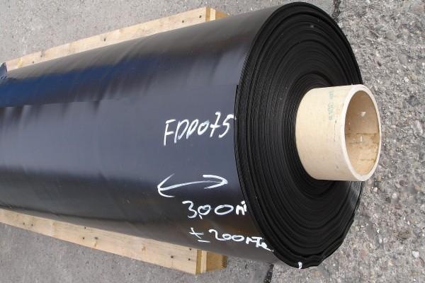 Wurzelschutzbahn 0,6 mm FPP 8m breit ohne NAHT