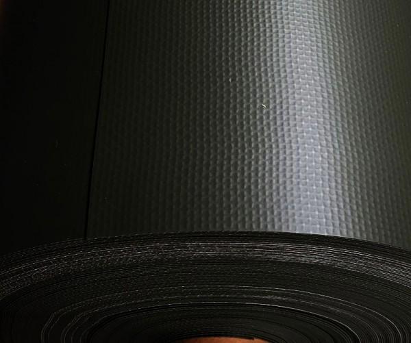 1,5 mm schwarz mit Gewebeverstärkung Teichfolie elastplan