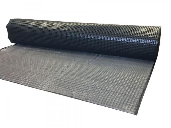 Druckstabile Noppenbahn ISO-Drain nature 10 MP (Rolle 12,5 x 2 m)