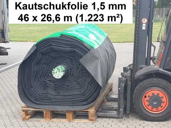 Kautschukfolie 1,5 mm [Überbreite 26,60 m] ProfiFlex EPDM