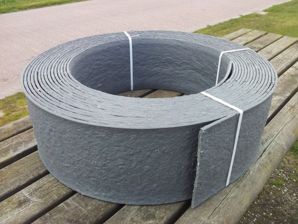 Teichrand Band/Rolle 25 m lang 14 cm hoch