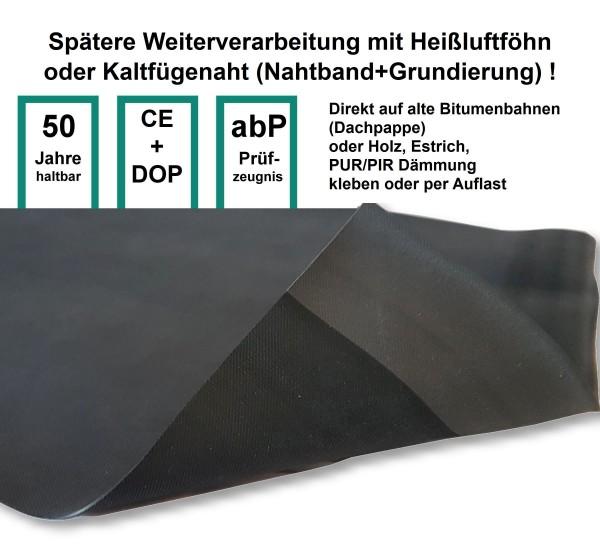 EPDM Dachfolie RubberTop LFRT 1,5 mm